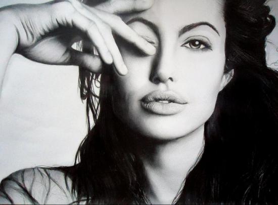 Angelina Jolie by watra